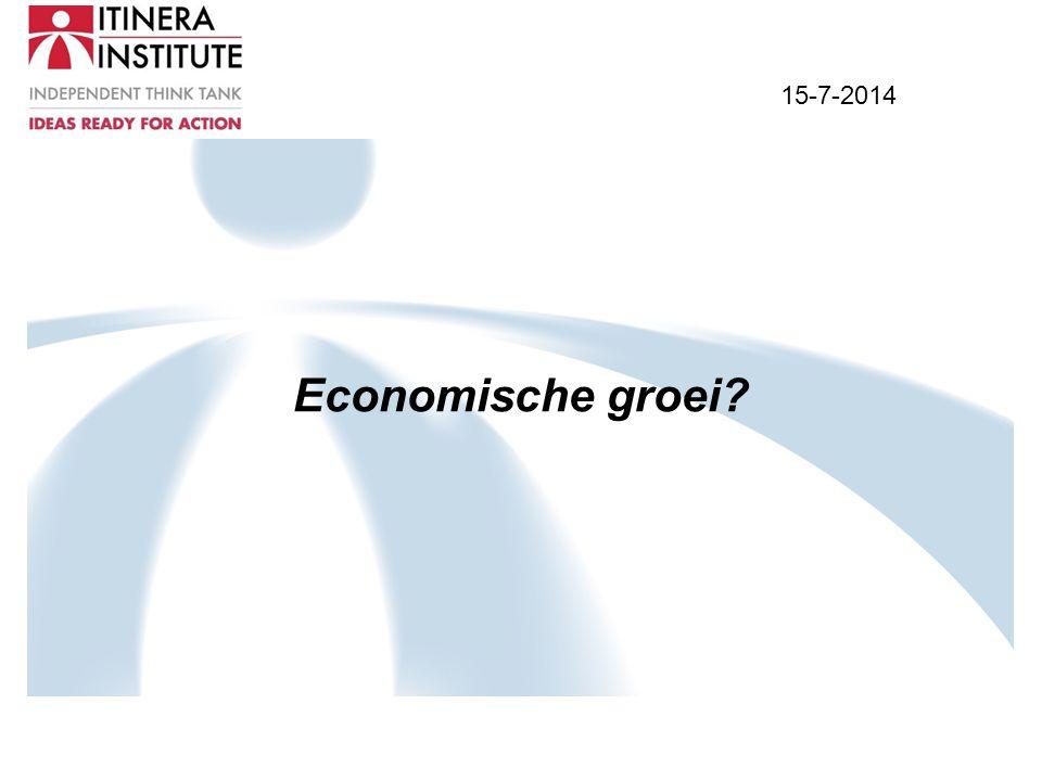 15-7-2014 Economische groei?
