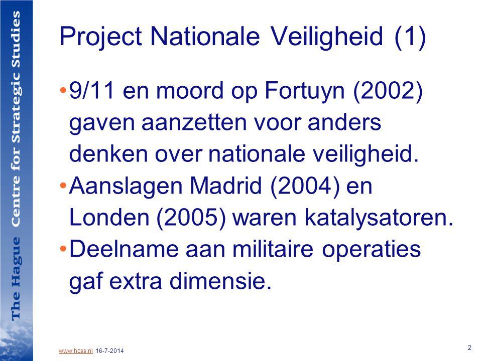 www.hcss.nlwww.hcss.nl 16-7-2014 13