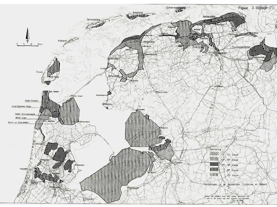 Bestaande situatie dijk ingedijkt / kwelder duin strand Zeespiegelstijging, dynamisch kustbeheer, washovers nieuwe kwelder ontwikkeling Zeespiegelstijging, dynamisch kustbeheer meegroeiend duin Zeespiegelstijging, vasthouden kleinschalige ophoging dijkverhoging grondwater Meegroeien met de zeespiegelstijging