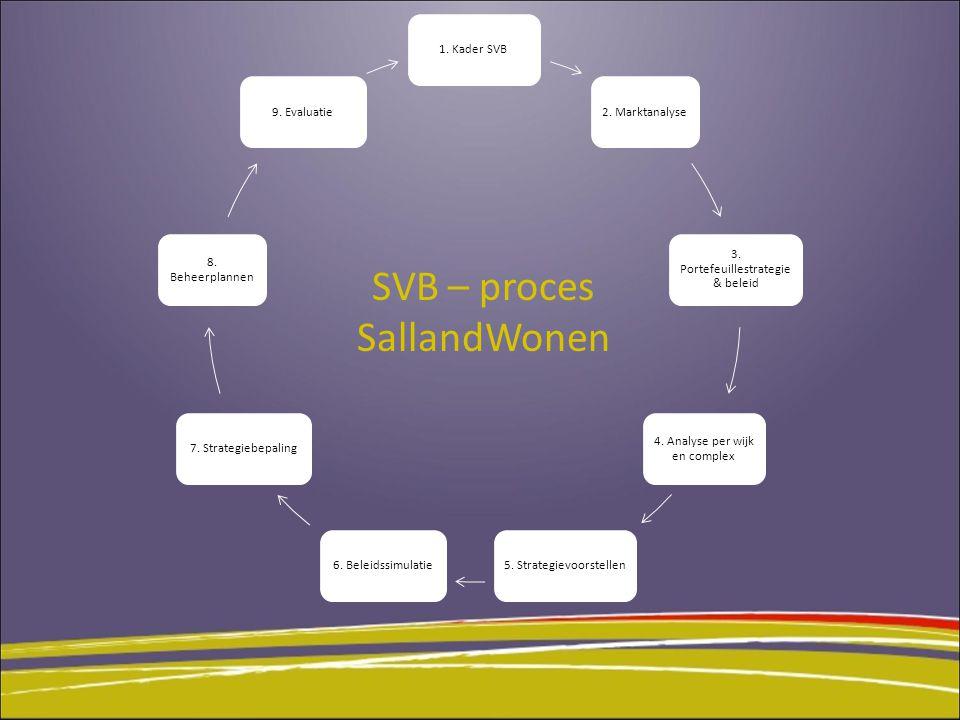 1.Kader SVB 2. Marktanalyse 3. Portefeuillestrategi e & beleid 4.