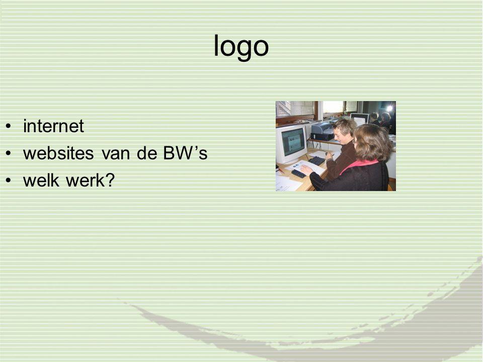 logo internet websites van de BW's welk werk?