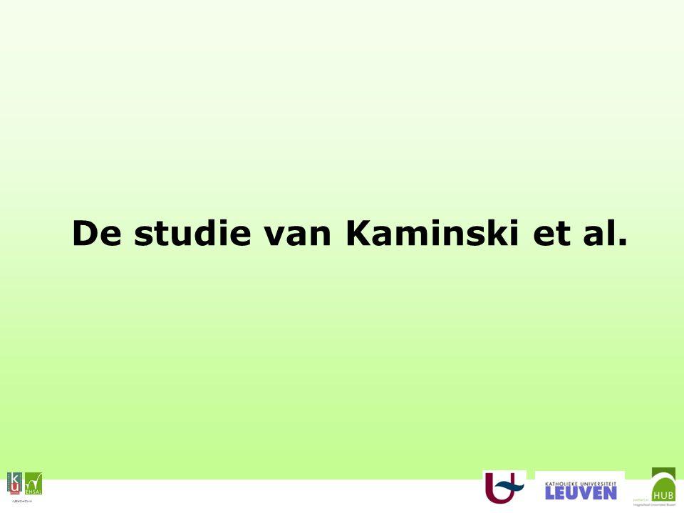 VLEKHO-HONIM De studie van Kaminski et al.