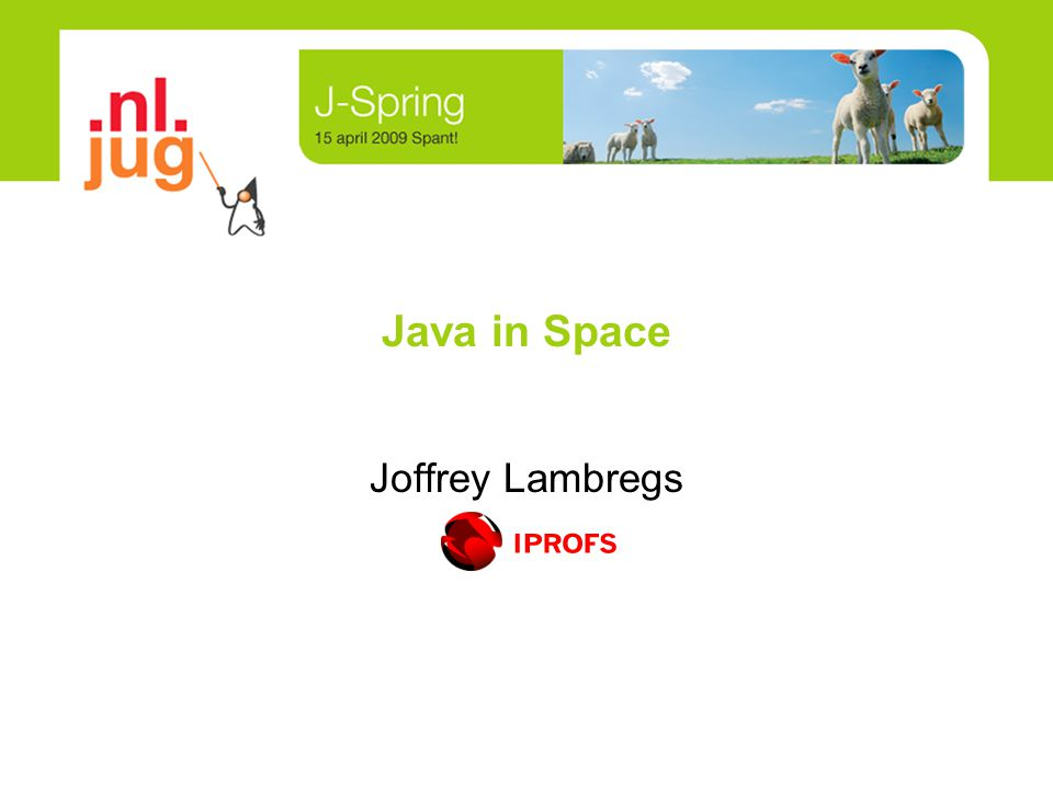 Java in Space Joffrey Lambregs