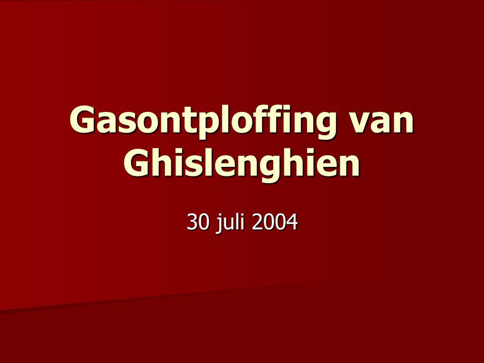 Gasontploffing van Ghislenghien 30 juli 2004