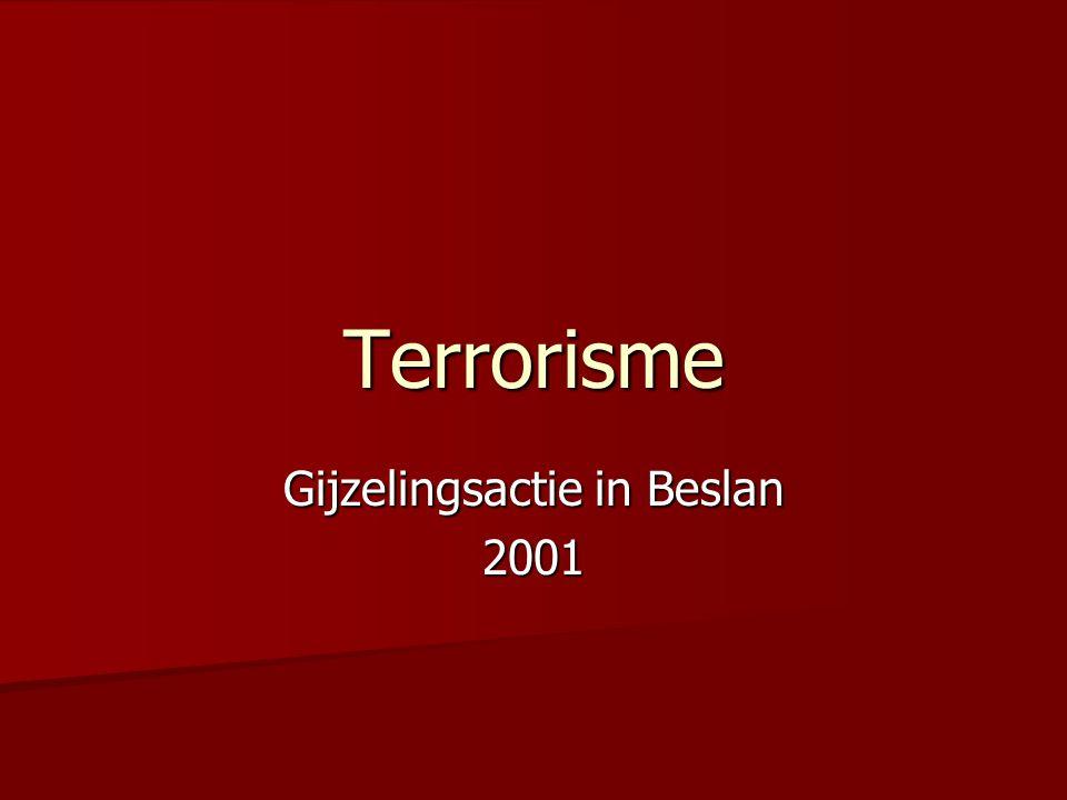 Terrorisme Gijzelingsactie in Beslan 2001