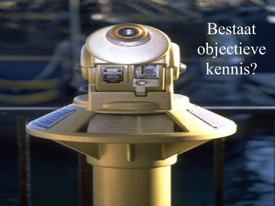Bestaat objectieve kennis?