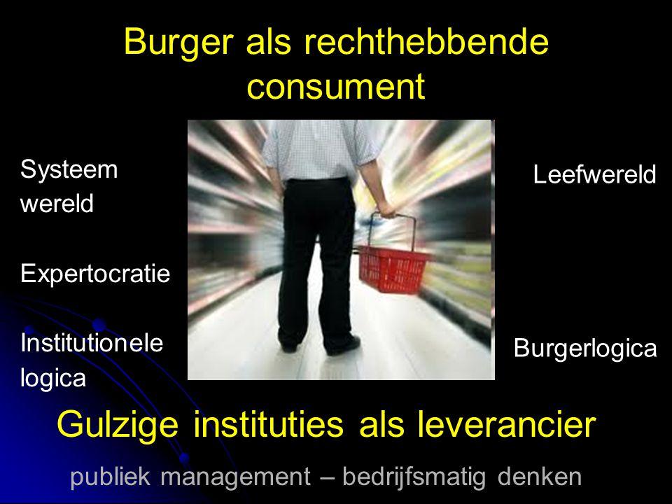 Het systeem loopt vast complex duur ontoegankelijk werkt slechter bij meer problemen tegelijkertijd etiketteert consumentistisch bureaucratisch