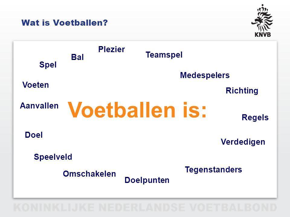 PAGINA 16 VAN 12 Voetballen in Nederland T=Techniek O=Overzicht en Omschakelen Concentratie P=Passie, Plezier door Prestatie en Pingelen Zelfvertrouwen Weerbaarheid Motivatie Spelsysteem:1 – 3 – 4 – 3 F- en E-jeugd voorbereidend op spelsysteem.