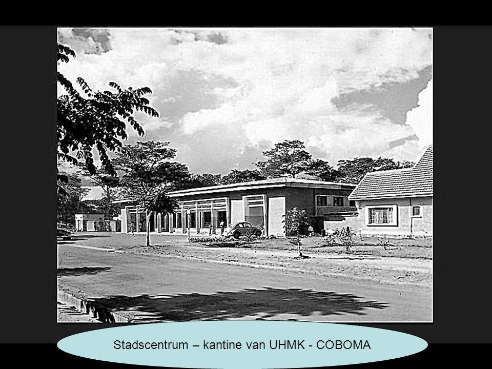 Stadscentrum – kantine van UHMK - COBOMA