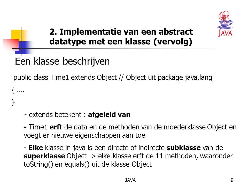 JAVA90 OPLOSSING public void setSaldo (double hetSaldo) { if (hetSaldo >= 0) saldo = hetSaldo; else { JOptionPane.showMessageDialog (null, Fout saldo – + saldo werd op 0 gezet! ); hetSaldo = 0; }