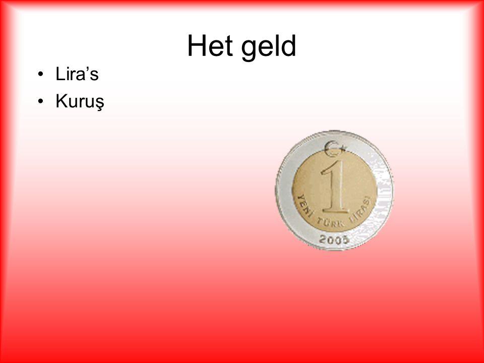 Het geld Lira's Kuruş