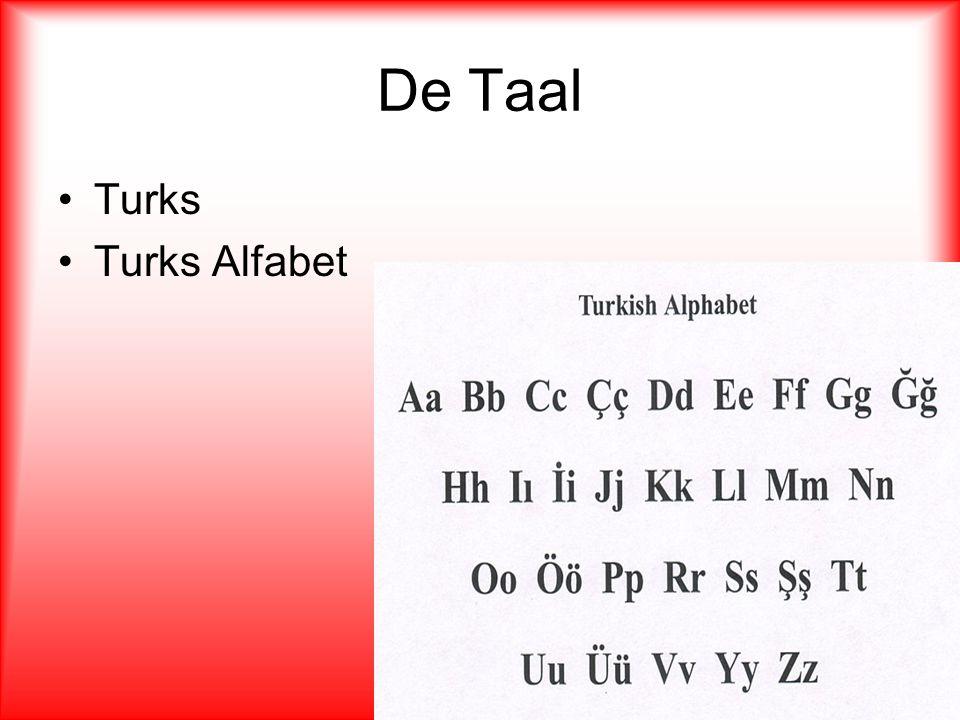 De Taal Turks Turks Alfabet