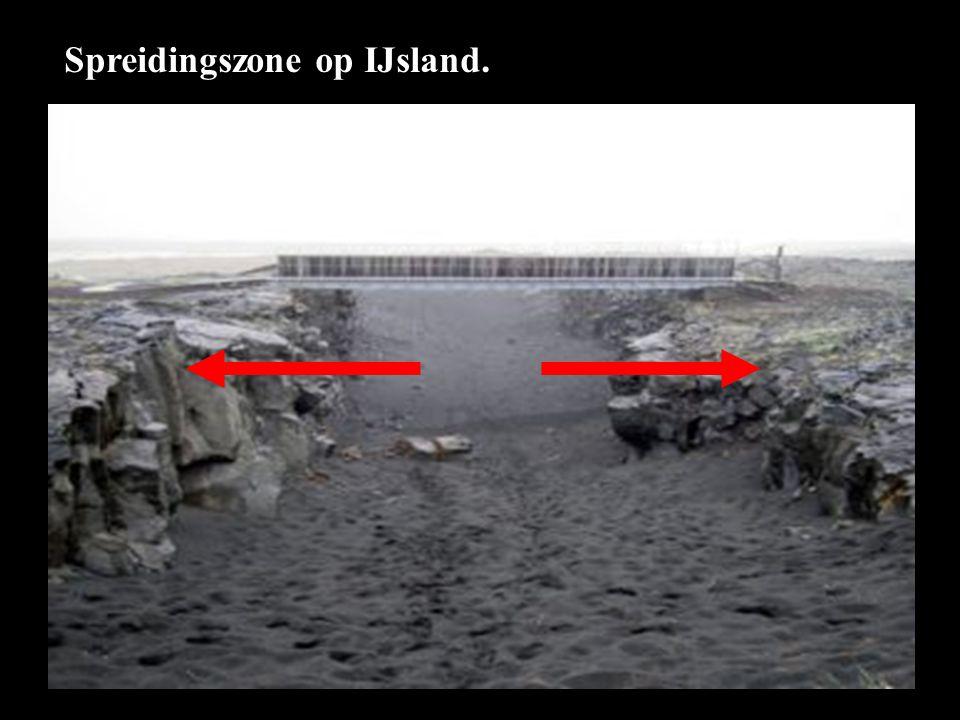 Spreidingszone op IJsland.