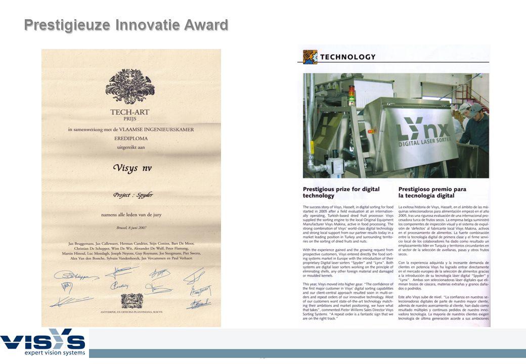 15 Prestigieuze Innovatie Award