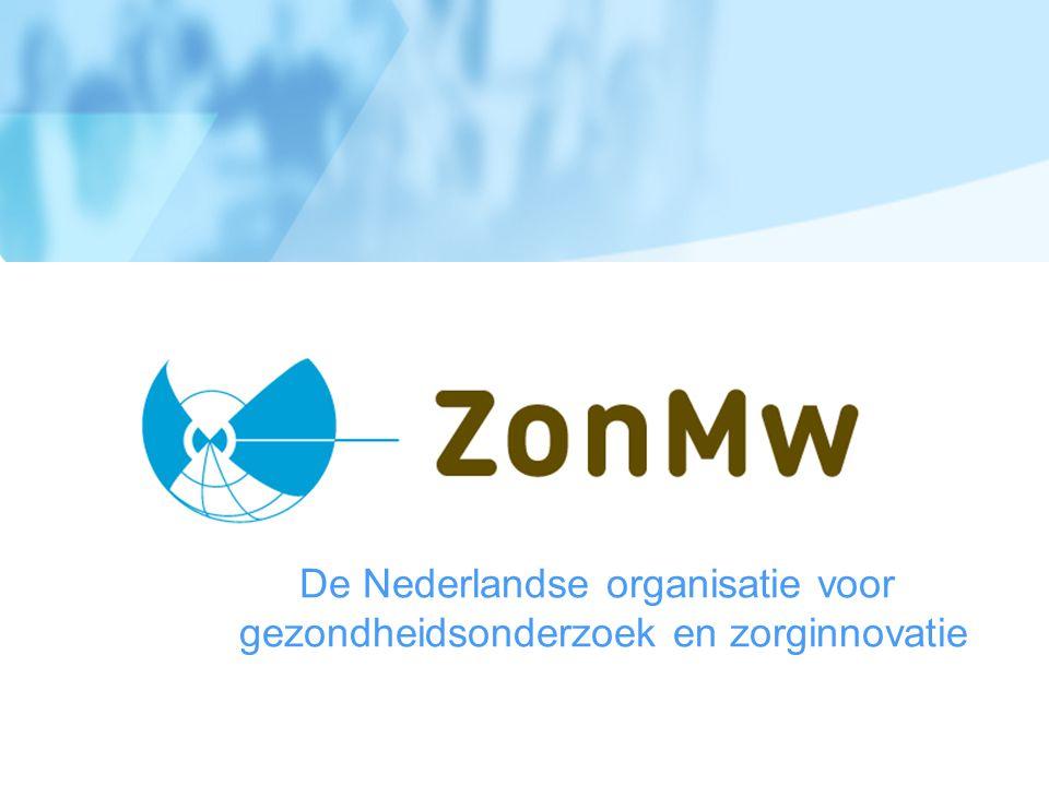 De Nederlandse organisatie voor gezondheidsonderzoek en zorginnovatie