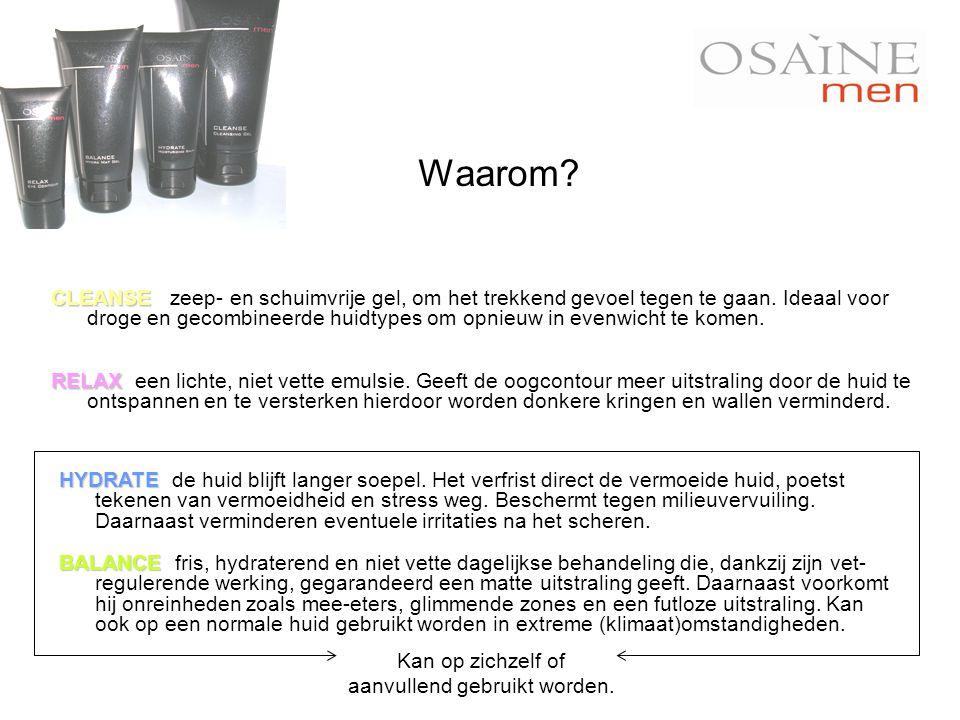 CLEANSE CLEANSE Sea water: 75% Phlorogine ® : 1% Bioplasma ® : 1% BALANCE BALANCE Sea water: 75% Starch: 5% Phlorogine ® : 2% RELAX RELAX Sea water: 70% Fitosoma ® : 2% Aosaïne ® : 1% HYDRATE HYDRATE Sea water: 65% Ceramide Complex ® : 2% Bioplasma ® : 1% ( Phycocorail ® : 1% ) Fact sheet: meest actieve ingrediënten