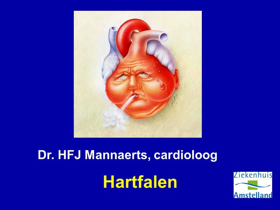 Hartfalen Dr. HFJ Mannaerts, cardioloog