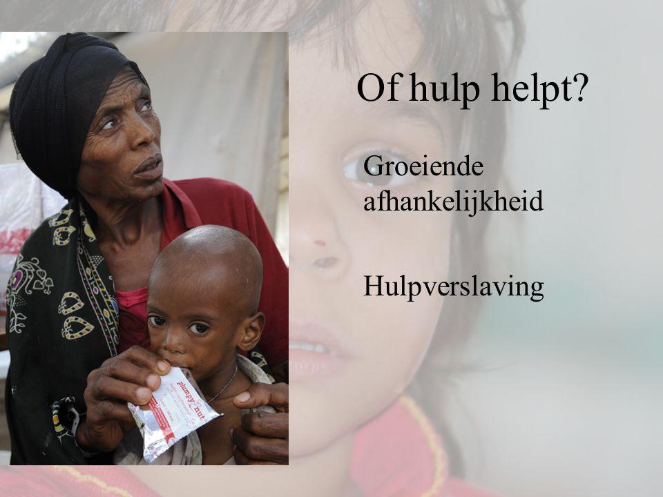 Of hulp helpt? Groeiende afhankelijkheid Hulpverslaving