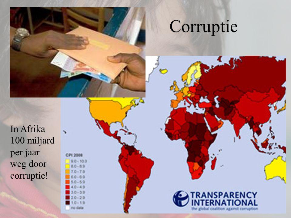 Corruptie In Afrika 100 miljard per jaar weg door corruptie!