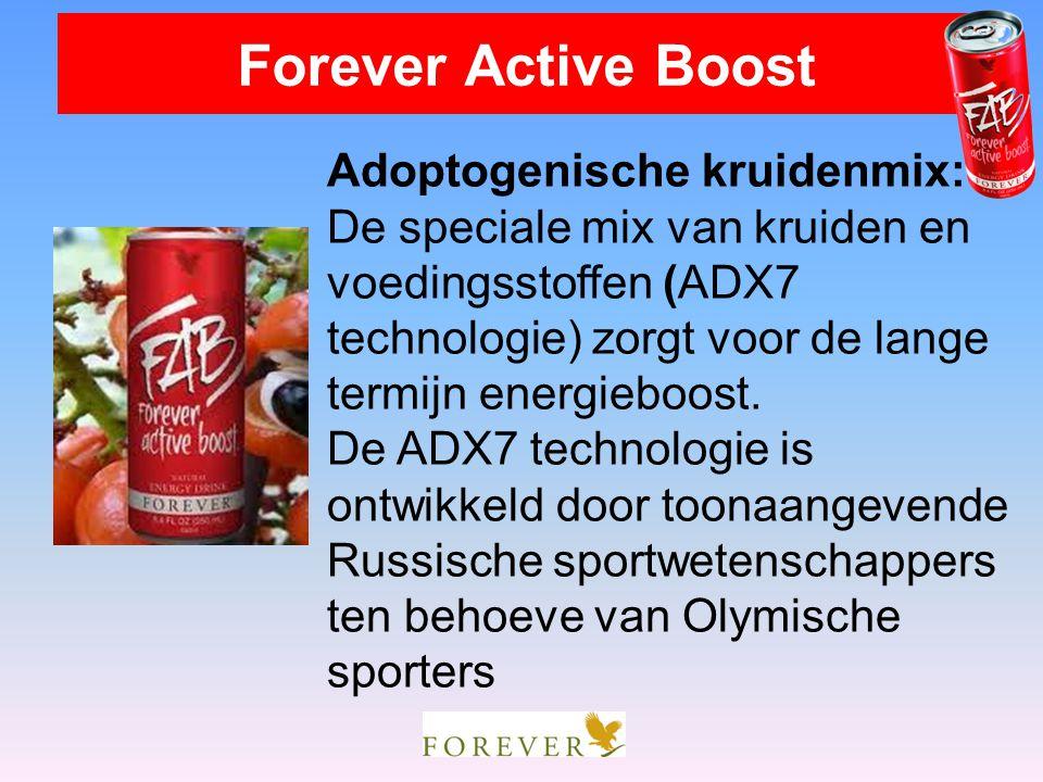 Adoptogenische kruidenmix: De speciale mix van kruiden en voedingsstoffen (ADX7 technologie) zorgt voor de lange termijn energieboost. De ADX7 technol