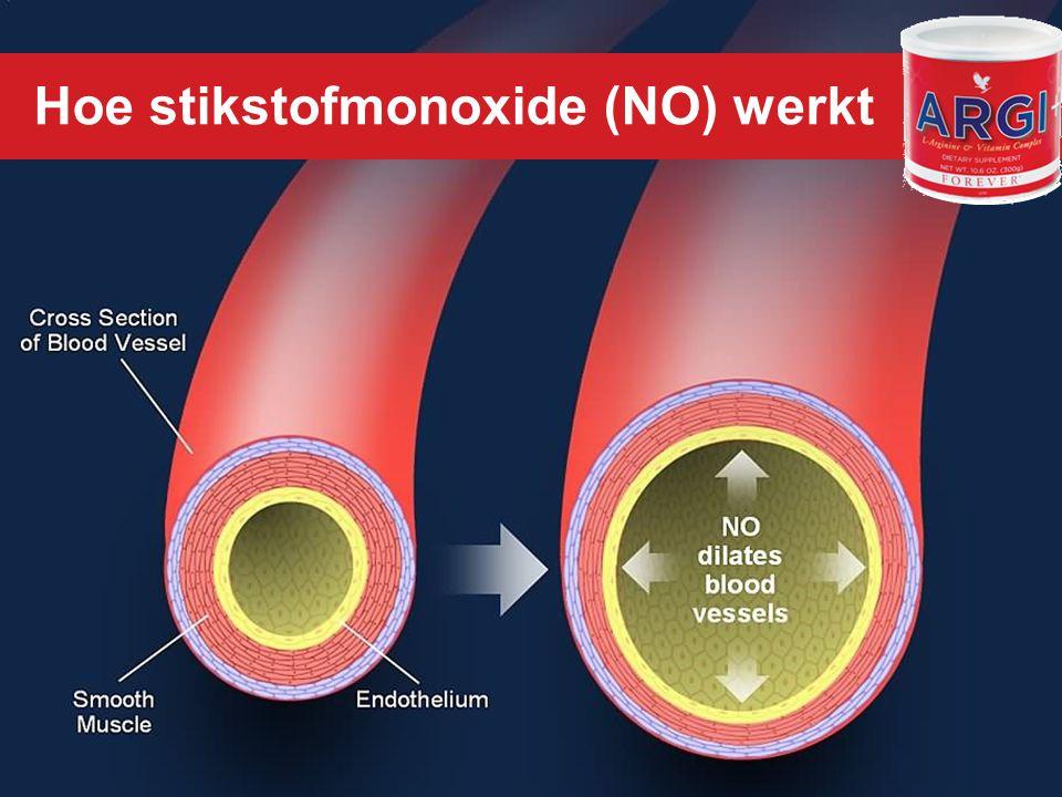 Klik om de stijl te bewerken Hoe stikstofmonoxide (NO) werkt