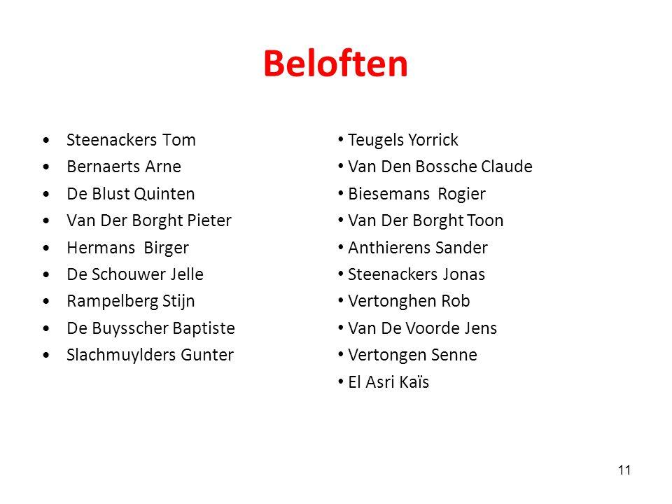 Technische staf T1: James Van Vaerenbergh T2: Hans Verbeeck T3: Gino Vermeren keeperstrainer: Jos Vermeeren Clubkiné : Karel Vandekerckhove Afgevaardi