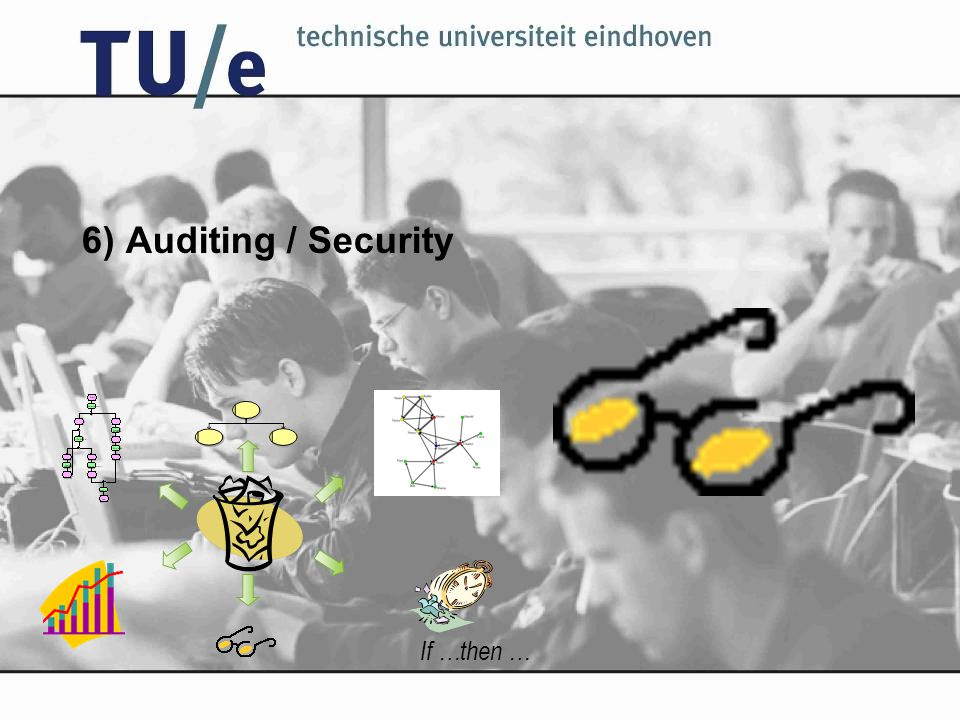 6) Auditing / Security If …then …