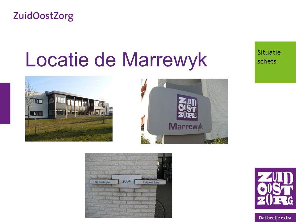 Locatie de Marrewyk Situatie schets