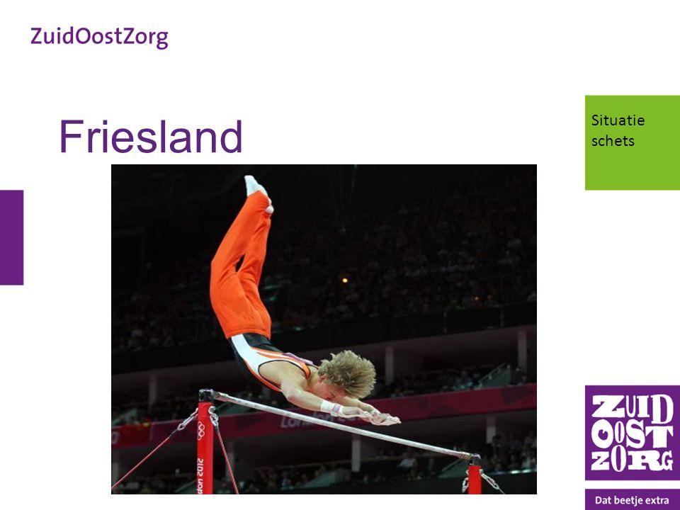 Friesland Situatie schets