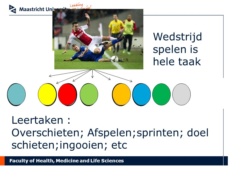 Faculty of Health, Medicine and Life Sciences Ervaringen van docenten GW en BMW Lastig om formative feedback te geven.