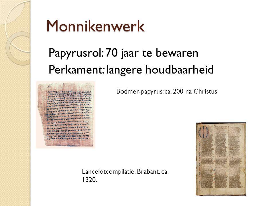 Christendom: Kloosters als centra van kopiisten