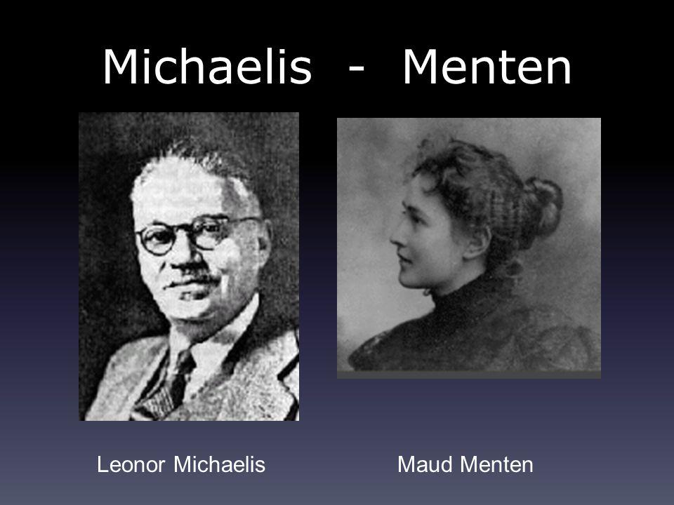 Michaelis - Menten Leonor Michaelis Maud Menten