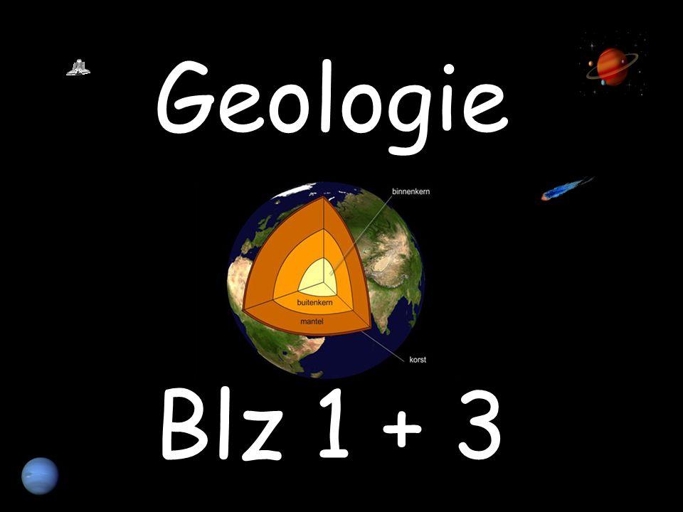 De wetenschap die het ontstaan van de aarde, de opbouw van de aarde en de processen die daarbij een rol spelen bestudeert.