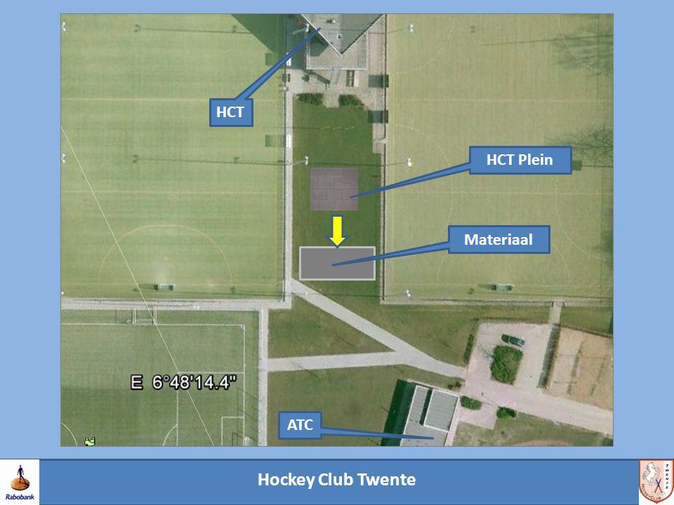 Hockey Club Twente HCT ATC Materiaal HCT Plein
