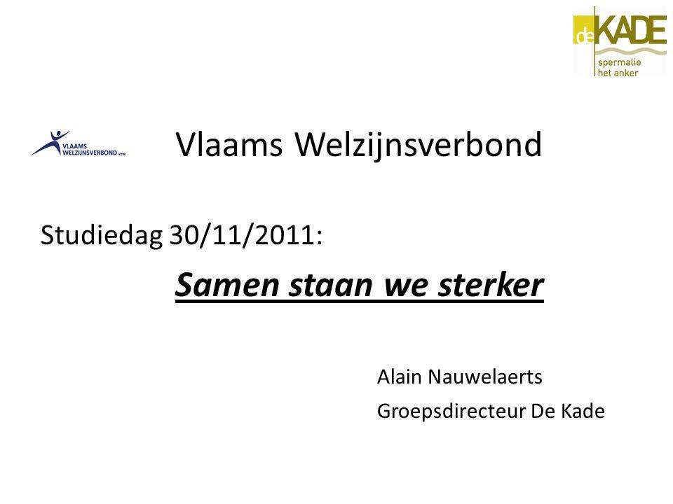 De Kade vzw: DE FUSIE INHOUD WORKSHOP A.SAMENWERKINGSVORMEN B.