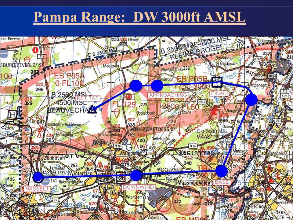 11 Pampa Range: DW 3000ft AMSL