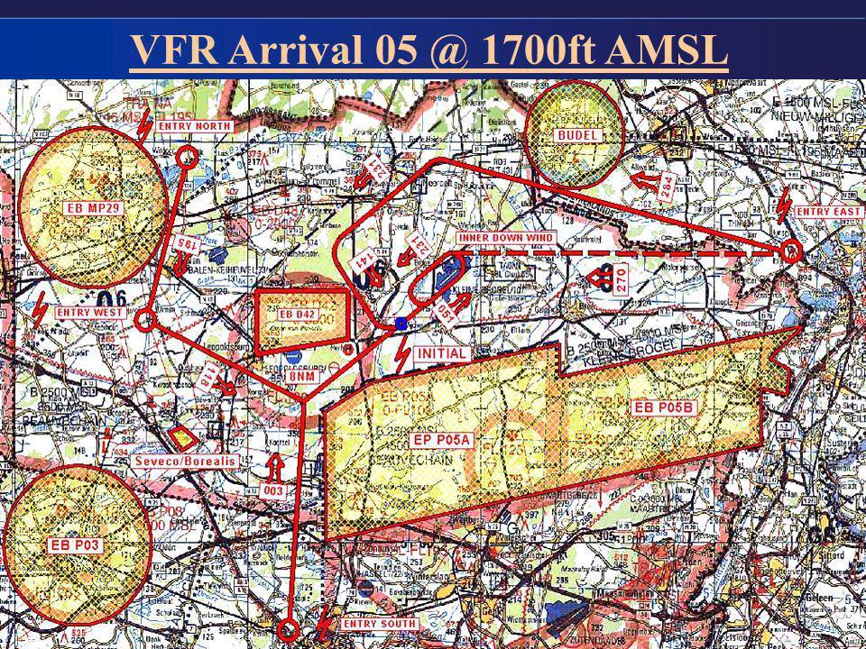 9 VFR Arrival 05 @ 1700ft AMSL