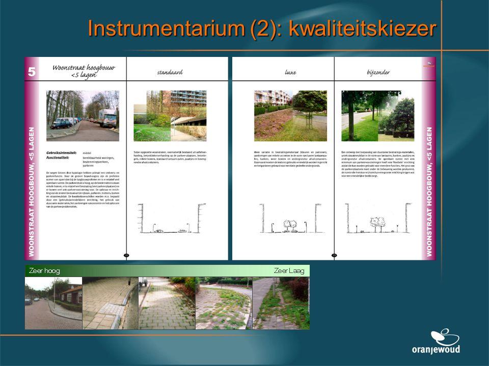 Instrumentarium (2): kwaliteitskiezer