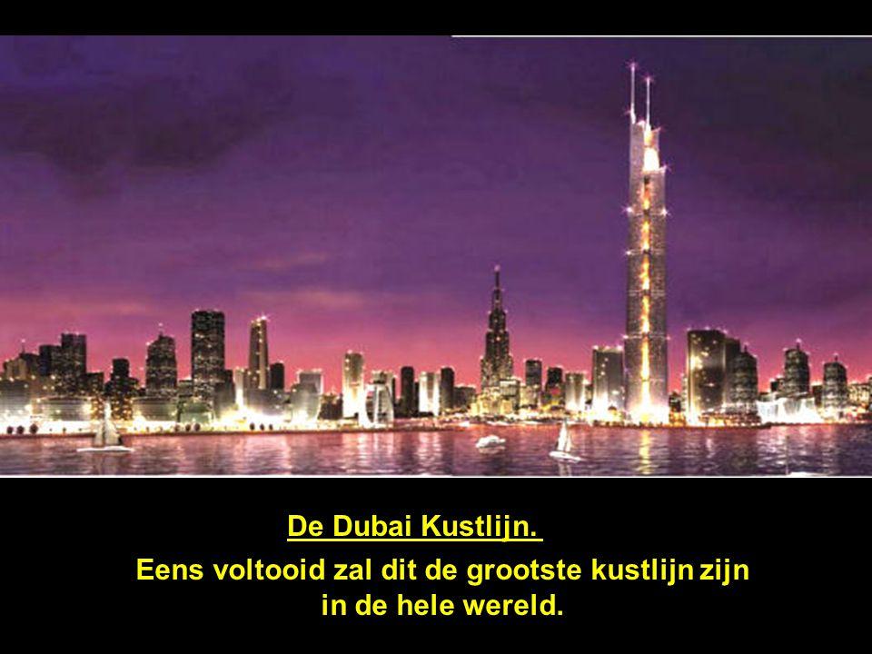 Door de huidige bouwexplosie, Dubai gebruikt momenteel 25% van alle bouwkranen in de wereld