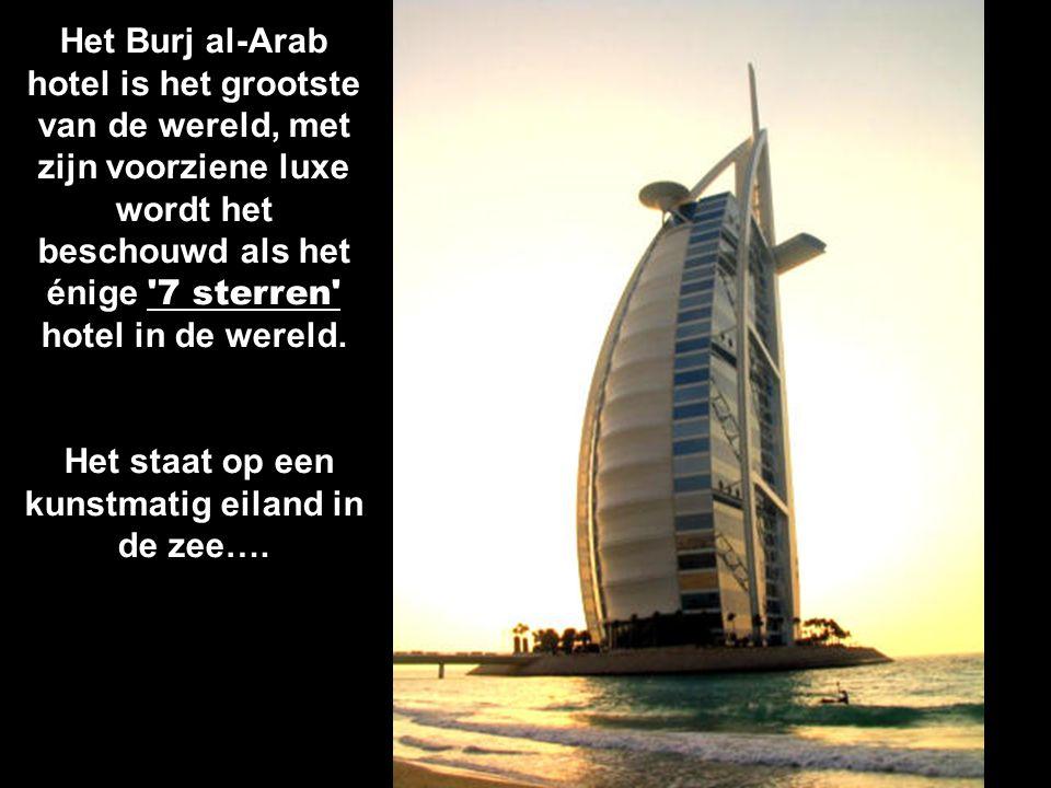 De Wereldeilanden. 300 kunstmatig gebouwde eilanden in de vorm van de wereld. Elk eiland zou 25-30 miljoen dollar kosten.