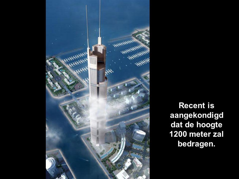 """Eens voltooid zal het de naam van """"hoogste gebouw"""" overnemen van de Burj Dubai. De Al Burj. Dit zal de blikvanger worden van de kustlijn van Dubai"""