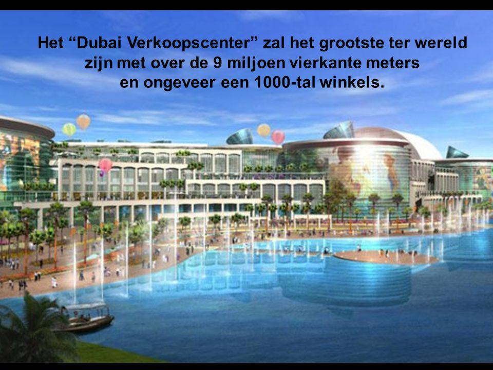 """De """"Dubai Marina"""" is volledig door de """"mens"""" gebouwd dat, eens voltooid, zal beschikken over 200 hoge gebouwen,."""
