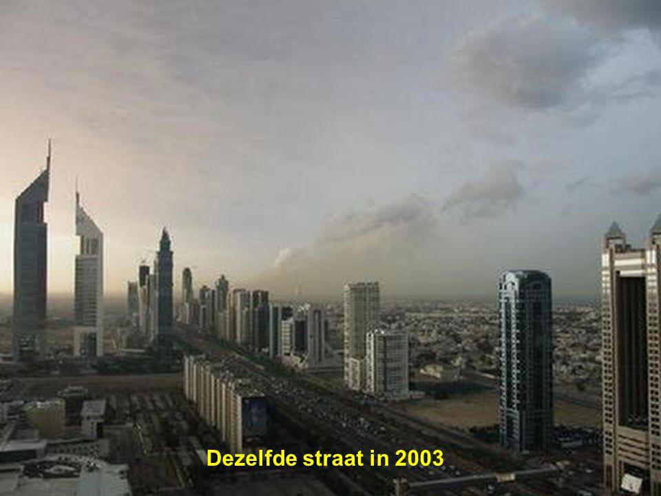 Dezelfde straat in 2003