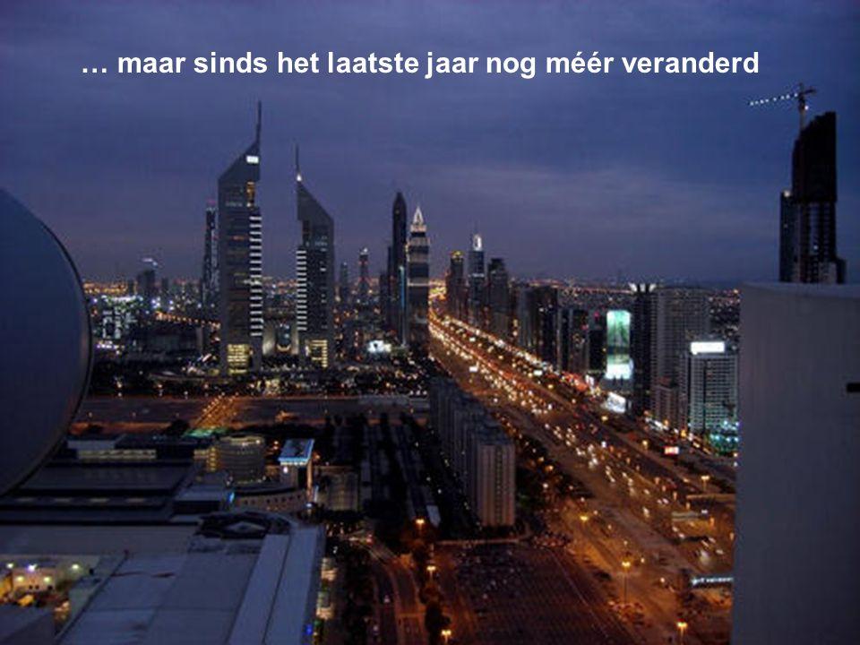 Zo zal de stad Dubai eruit zien eind 2008-2009.