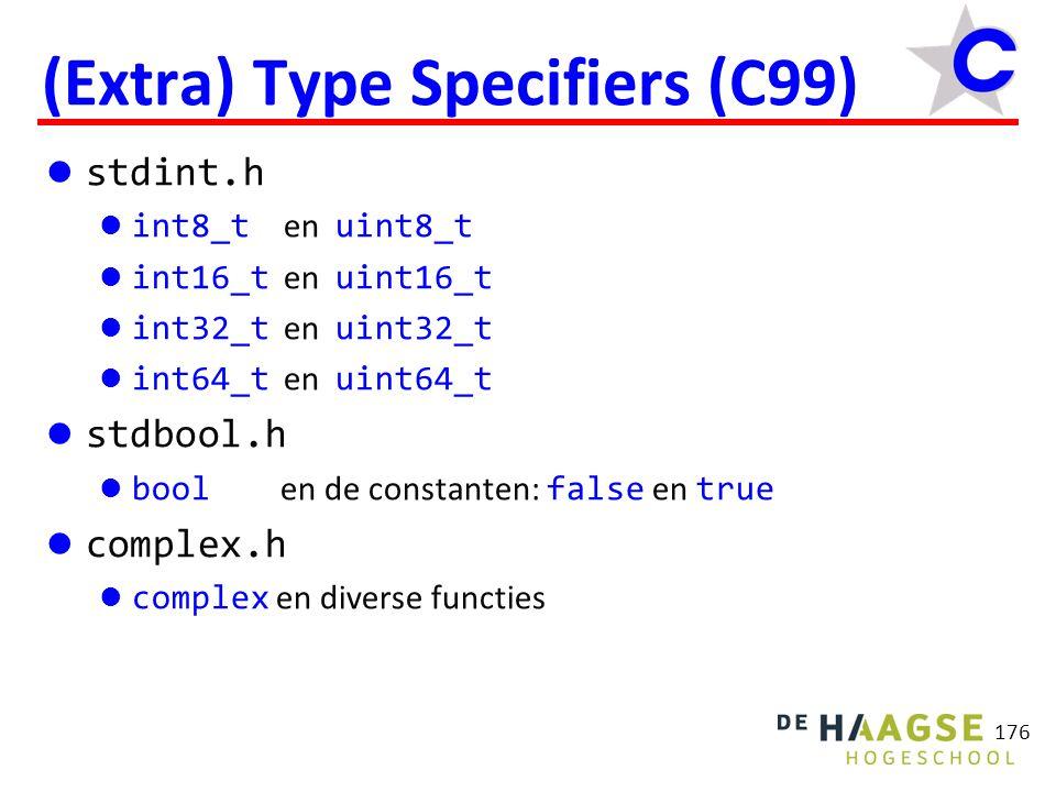 177 Block Scope (C89) Variabelen mogen alleen aan het begin van een compound statement gedefinieerd worden, dus na {.