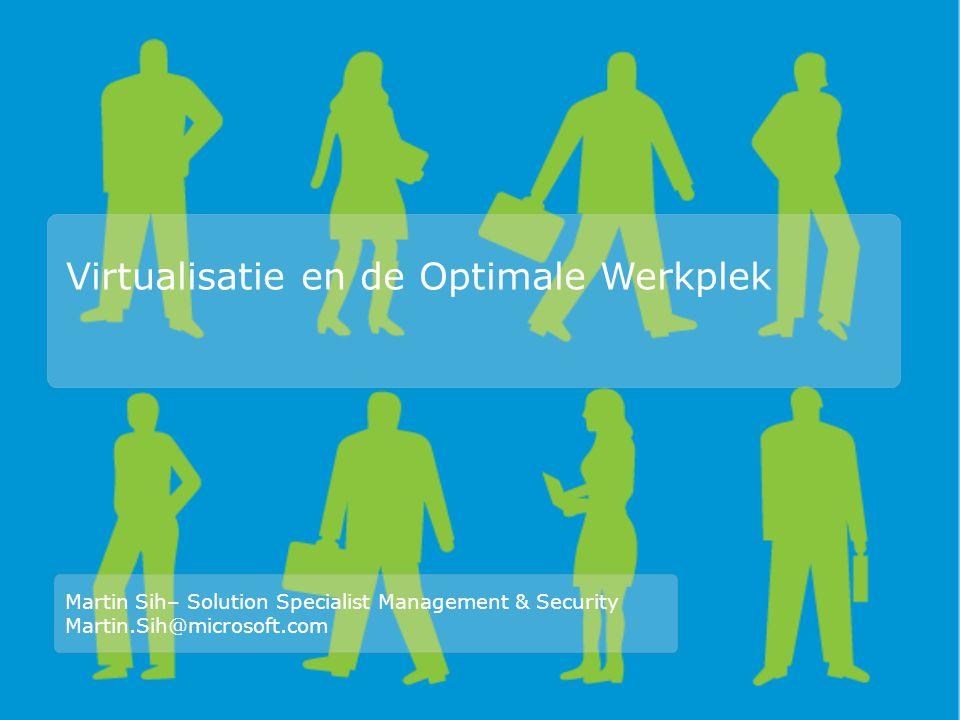 Waarom Werkplek Virtualisatie?