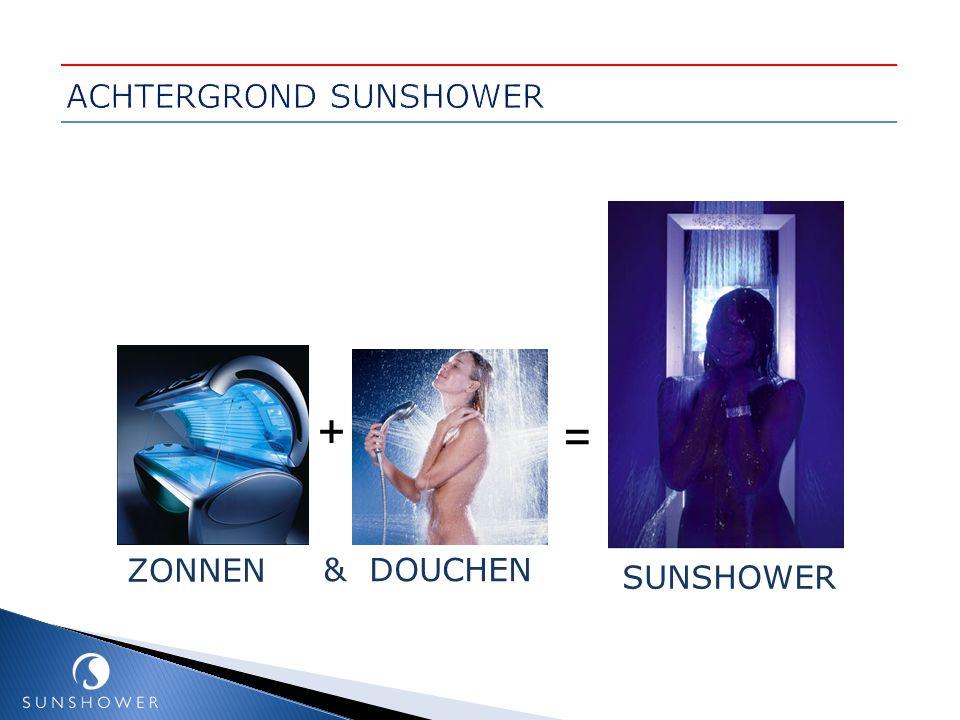 = SUNSHOWER + ZONNEN & DOUCHEN