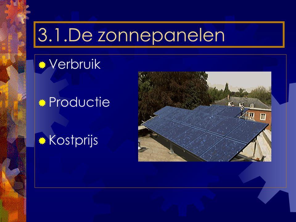 3.2Verwarmen op gas  Dit is veel milieuvriendelijker en de investering is na 3 tot 4 jaar gerecupereerd.