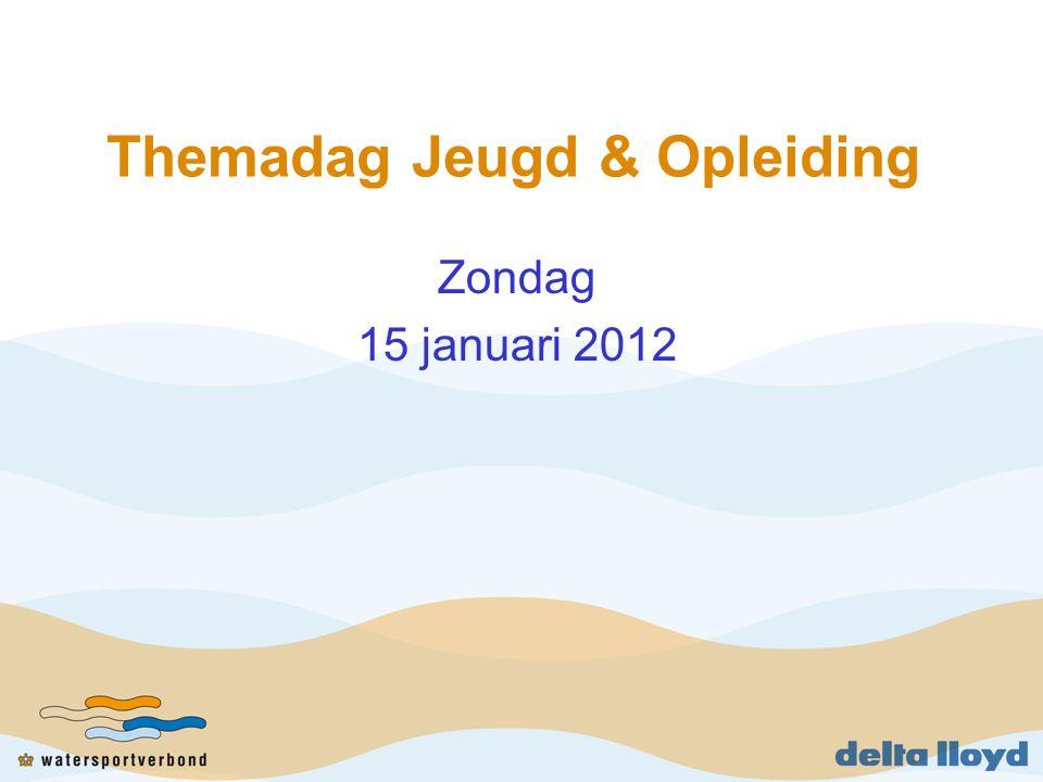 Themadag Jeugd & Opleiding Zondag 15 januari 2012
