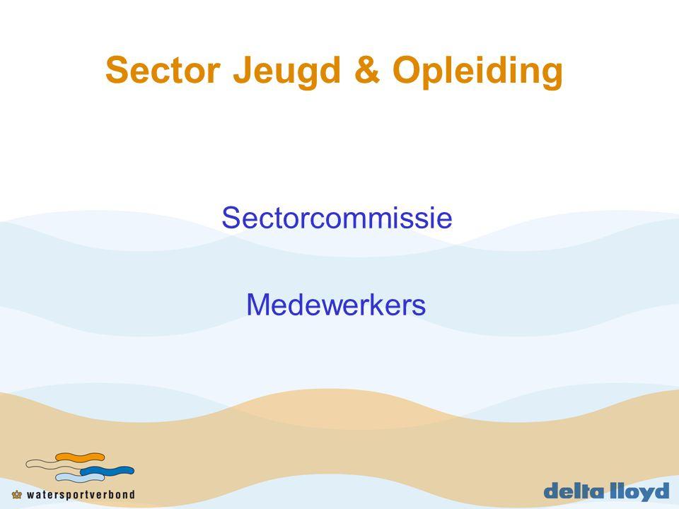 Sector Jeugd & Opleiding Sectorcommissie Medewerkers